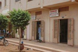A shop in Bamako