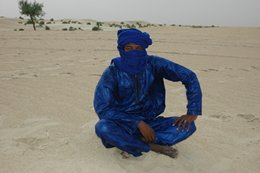 Traditional Tuareg clothes