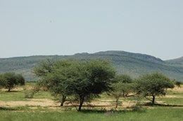 Landscape became hillier