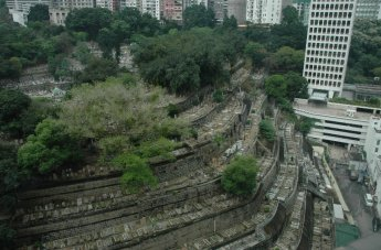 cemetery tiers in HongKong image